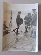 WW1 Photo - Sir Henry Wilson & General Cory at Constantinople