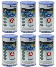 6 x Intex Filter Kartusche Typ A Filterkartusche Filterpatrone Pool 29000, (K)
