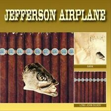 Bark/Long John Silver by Jefferson Airplane (CD, Jun-2008, 2 Discs, Acadia)