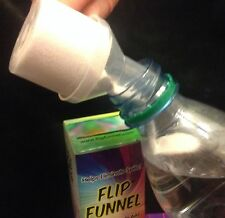 Flipfunnel - Assists in getting energy drink mixes into water bottles!!!