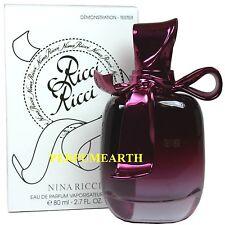 Ricci Ricci By Nina Ricci Tster 2.7oz Edp Spray For Women New In Tster Box