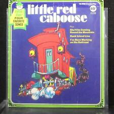 "Peter Pan Players - Little Red Caboose EP 7"" VG Vinyl 45 Peter Pan F1233 USA"