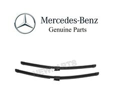 Front Windshield Wiper Blades Fits for Mercedes-Benz S CL Class W221 W216 C216 2007-2014 Set of 2 Wiper Blade Set 27+27 Side Lock