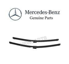 For Mercedes W222 Maybach S550 S63 AMG Sedan Wiper Blade Set OES 222 820 11 45