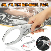 Adjustable Oil Filter Wrench Pliers Remover 50-110mm Auto Car Removal ToolBDAU
