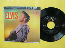 """ELVIS PRESLEY """"ELVIS VOLUME 1"""" RCA-992 EP WITH COVER HORIZONTAL SILVER LINES"""