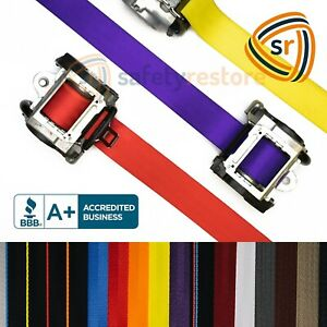 For Audi A6 Quattro SEAT BELT WEBBING REPLACEMENT FRAYED STRAP HARNESS DOG CHEW