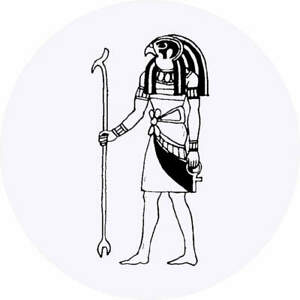 'Thoth Egyptian God' Stickers (SK017252)
