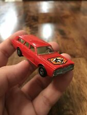 Vtg Lesney MatchboxSuperfast 59  73Mercury Red Wagon W/Dogs Free S&H Die Cast