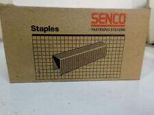 "Senco 7/16"" Crown 3/4"" Leg 16 ga Construction STAPLES N11BAB QTY 5000 Sencoted"