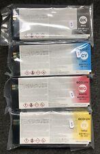 4 x ROLAND Tinte VersaUV LEC-300 LEC-330 LEC-540 LEJ-640 / ECO-UV EUV Ver.2 INK