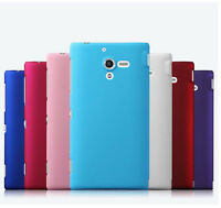 For Sony Xperia ZL L35h New Snap On Rubberzied hard Matte case cover