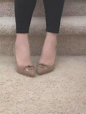 Brand New!!Nine west shoes size 9. Khaki suede!