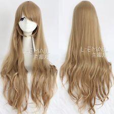 Aisaka Taiga Cosplay brown Wig Anime long wave wig