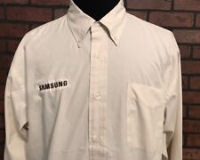 Samsung Long Sleeve Button Down Shirt Men's Size XL
