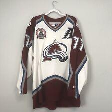 Vintage Ray Bourque Colorado Avalanche CCM 2001 Stanley Cup Jersey Size Men's XL