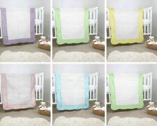 "Handmade Baby Quilt For Nursery Warm Soft Baby Blanket Cotton Crib Quilt 38""x48"""
