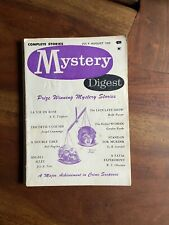 Mystery Digest November July August 1959 - Crime - Noir - Pulp