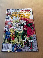 Thor 454 .    Marvel 1992 -  VF