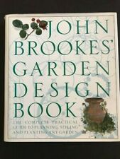 JOHN BROOKES' GARDEN DESIGN Book PRACTICAL GUIDE Planning Styling Planting IDEAS