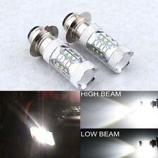 2Pcs H6M 80W Cree LED Bright White Headlights Upgrade Bulbs Lamp For Yamaha