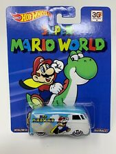VOLKSWAGEN T1 PANEL BUS - Super Mario World - Hot Wheels Pop Culture REAL RIDERS