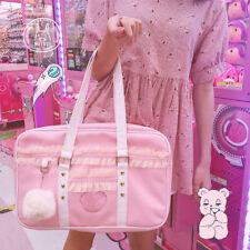 Pink Sakura Japanese Lolita JK Uniform Student School Bag Shoulder Handbag Cute