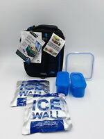 Ultra Lunch Box Expandable Bento Container Set Ice Walls