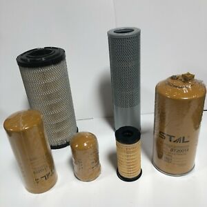 FITS CATERPILLAR CAR E312D2 312D2  FILTER (AIR ,FUEL ,OIL ,HYDRAULIC )SERVICE
