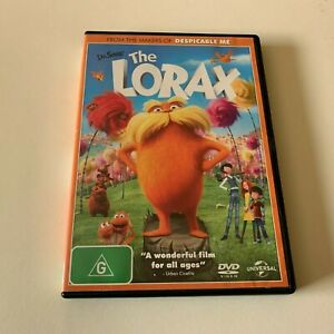 The Lorax - Dr. Seuss -  DVD - Region 4 - PAL - Very Good Condition - Free Post