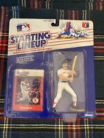 Starting Lineup Wade Boggs MLB Baseball Figure - Card MOC Kenner 1988