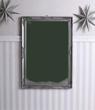 Barockspiegel Silber Spiegel Antik Badspiegel Wandspiegel Rokoko Flurspiegel