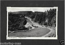 1938 PERIOD POSTCARD NURBURGRING AUTO UNION POSTKARTE PHOTOGRAPH