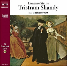 Tristram Shandy (Classic Fiction), Audio Book, Good Condition, Sterne, Laurence