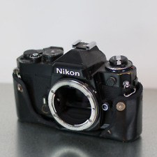 Nikon FE SLR Film Camera Body Black