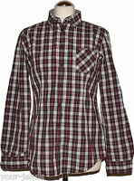 Marc O'Polo Hemd  Gr. 38  Mehrfarbig  Brusttasche  Kariert  Logo    Bluse