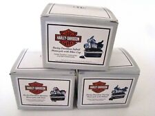 PHB Midwest of Cannon Falls Hinged Boxes Harley-Davidson Motorcycles SET of 3