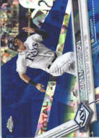 LOGAN MORRISON 2017 TOPPS CHROME SAPPHIRE EDITION #226 ONLY 250 MADE