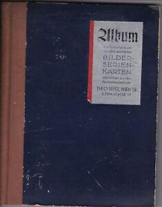 Album Sammelbilder Personenwaagen Theo Seitz Wien um 1930