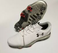 Under Armour Spieth 3 2019 Size 10 Golf Shoes 3022260-102 White NEW FAST SHIP