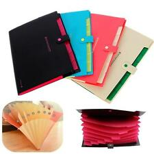 New Plastic A4 Paper File Folder Cover Holder Document Office Supplies Portfolio