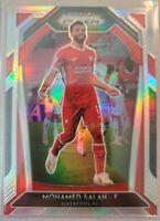 2020-21 Panini Prizm EPL Mohamed Salah Silver  Prizm Liverpool
