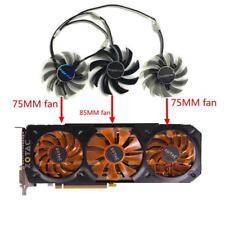Dataland Powercolor DEVIL R9 270X R9-370X Graphics Card fan cooler 3pcs/lot
