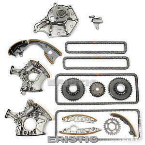Fits Audi 3.2L DOHC AUK BKH BPK BYU A4 A6 2.4L BDW Timing Chain Kit + Water Pump