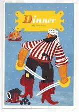 1949 MS Stella Polaris Steamship Vintage Dinner Menu