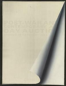 CHRISTIE`S CATALOGUE POST-WAR & CONTEMPORARY ART 2012