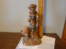 """Cairn Studio Tom Clark """" Alsaka """" edition # 1 Signed Coa and story card included"""