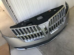2010 2011 2012 LINCOLN MKT FRONT FULL BUMPER FOG LIGHTS GRILL GRILLE /PICK UP!!!