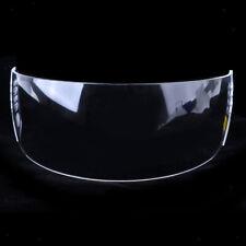 Hockey Visor Half Shield Pro Cut Clear Senior Anti-Fog/Scratch with Hardware