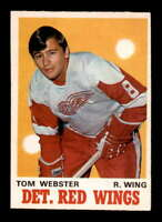 1970 O-Pee-Chee #155 Tom Webster RC EXMT/EXMT+ X1628000